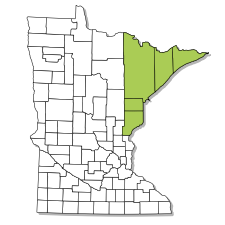 Minnesota range map