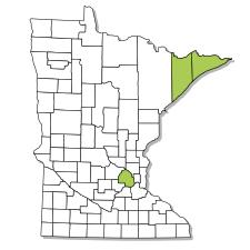 Minnesota range map