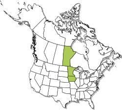 North American range map